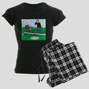 Beaver Bad Day Women's Dark Pajamas