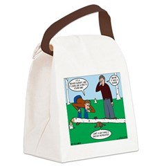 Beaver Bad Day Canvas Lunch Bag