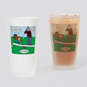 Beaver Bad Day Drinking Glass