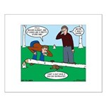 Beaver Bad Day Small Poster