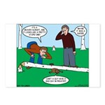 Beaver Bad Day Postcards (Package of 8)