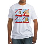 Pet Car Rides Fitted T-Shirt