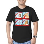 Pet Car Rides Men's Fitted T-Shirt (dark)