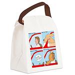 Pet Car Rides Canvas Lunch Bag