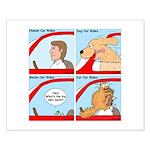 Pet Car Rides Small Poster