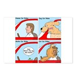 Pet Car Rides Postcards (Package of 8)