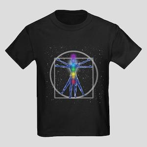 Chakra Spirit Woman Kids Dark T-Shirt