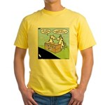 Cow Pies Yellow T-Shirt