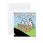 Cow Pies Greeting Cards (Pk of 10)