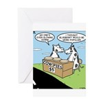 Cow Pies Greeting Card