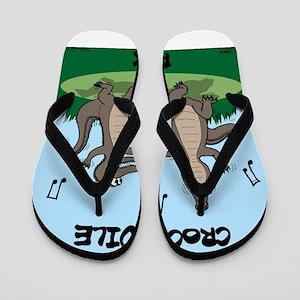 Crocodile Rock Flip Flops