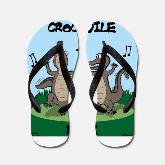 Crocodile Rock Flip Flops
