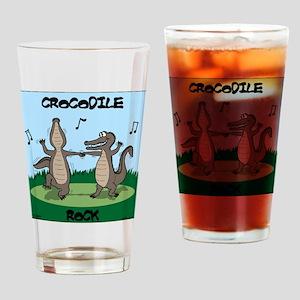 Crocodile Rock Drinking Glass