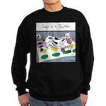 Cows in a Twister Sweatshirt (dark)