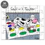 Cows in a Twister Puzzle