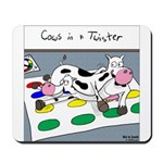 Cows in a Twister Mousepad