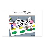 Cows in a Twister Postcards (Package of 8)