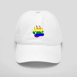 GAY Bear Rainbow Paw Cap