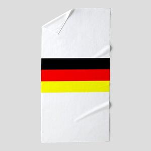 Flag Germany Beach Towel