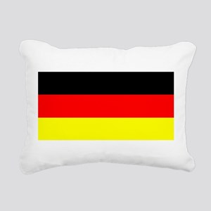 Flag Germany Rectangular Canvas Pillow