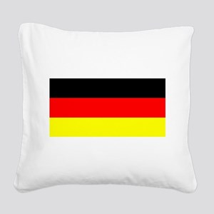 Flag Germany Square Canvas Pillow