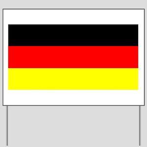 Flag Germany Yard Sign