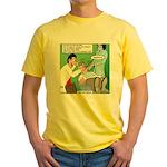 Dentist Speak Yellow T-Shirt