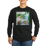 Dentist Speak Long Sleeve Dark T-Shirt