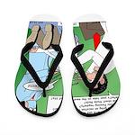 Dentist Speak Flip Flops