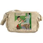 Dentist Speak Messenger Bag