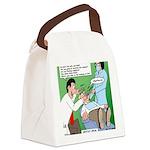 Dentist Speak Canvas Lunch Bag