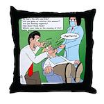 Dentist Speak Throw Pillow