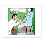 Dentist Speak Small Poster