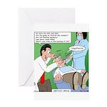 Dentist Speak Greeting Card