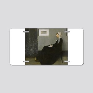 Whistlers Mother Aluminum License Plate