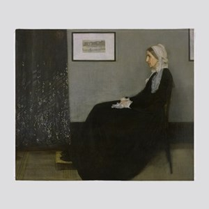 Whistlers Mother Throw Blanket