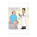 Prostate Second Opinion Mini Poster Print