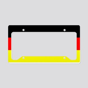 Flag Germany License Plate Holder