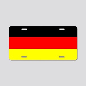 Flag Germany Aluminum License Plate