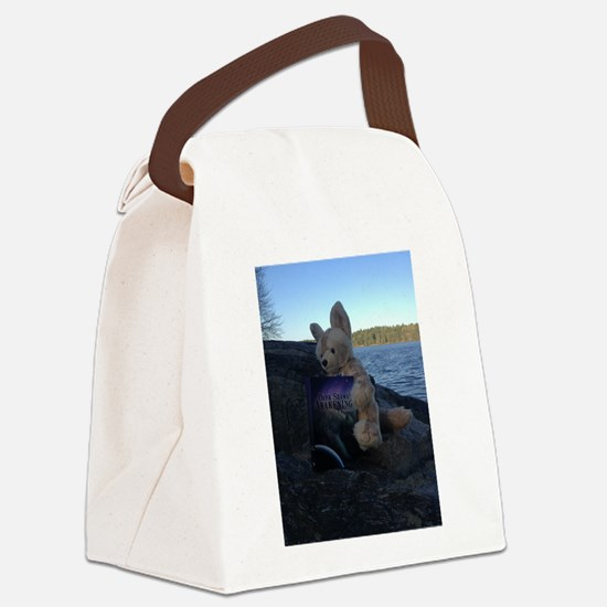 Fennecus Beach Canvas Lunch Bag