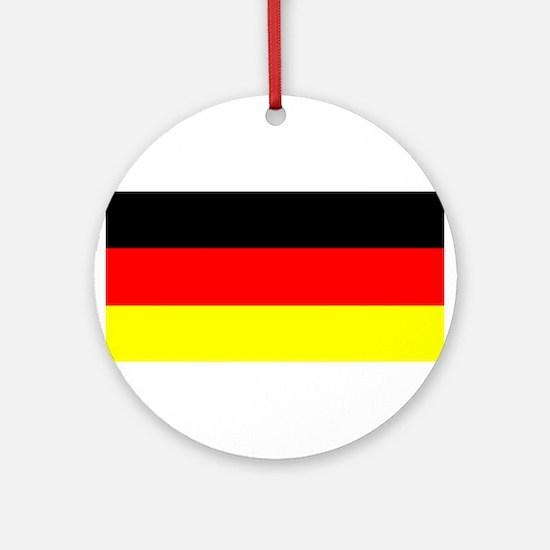 Flag Germany Ornament (Round)