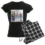 Dentist X-Ray Women's Dark Pajamas