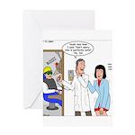 Dentist X-Ray Greeting Card