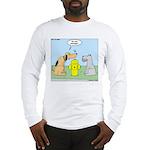 Dog Messaging Long Sleeve T-Shirt