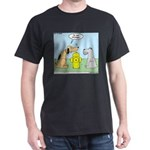 Dog Messaging Dark T-Shirt