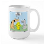 Dog Messaging Large Mug