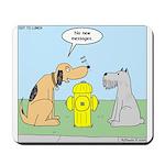 Dog Messaging Mousepad