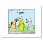 Dog Messaging Small Poster