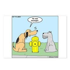 Dog Messaging Postcards (Package of 8)