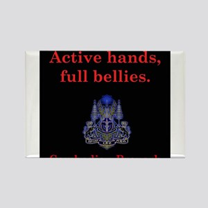 Active Hands - Cambodian Proverb Magnets